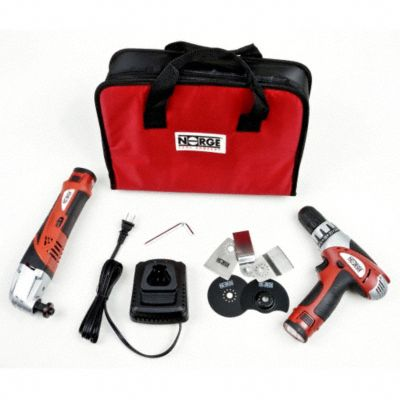 Li-ON Drill/Multi-Tool Kit